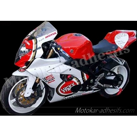 Autocollants - stickers Suzuki gsxr lucky strike