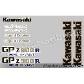 Autocollants stickers Kawasaki GPZ900R A1