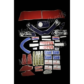 Autocollants stickers Honda Africa twin 650 marathon
