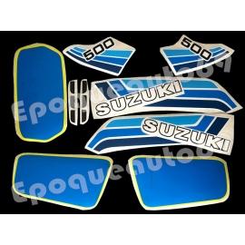 Kit autocollants - stickers suzuki DR 500