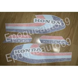 Autocollants Stickers HONDA 500 XLS année 1979