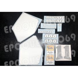 Autocollants stickers Ducati 888 SP4