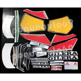 Autocollants - Stickers Gilera sp 02 modèle 125