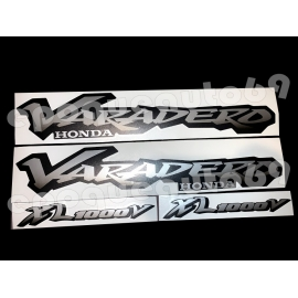 Autocollants stickers Honda Varadero1000 XLV