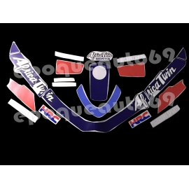 Autocollants stickers Honda Africa twin xrv 650 rd 03 1988-89