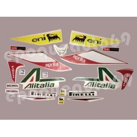 Autocollants Stickers Aprilia SRV 850 ALITALIA