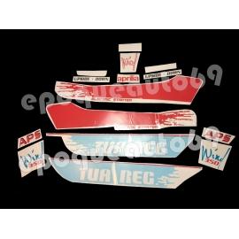 Autocollants - Stickers Aprilia TUAREG wind 350 année 1989