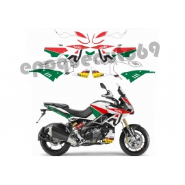Autocollants stickers Aprilia CAPONORD 1200 Factory