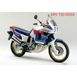 Autocollants stickers Africa twin xrv 750 rd 04