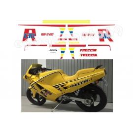 Autocollants stickers Cagiva FRECCIA C10 R année 1998( moto jaune )