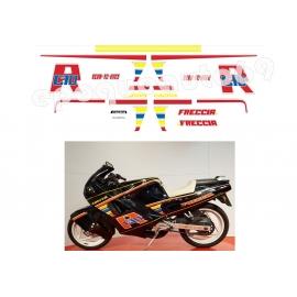 Autocollants stickers Cagiva FRECCIA C10 R année 1998 ( moto Noire )
