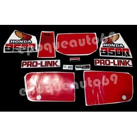 Autocollants - Stickers honda XL 350 R