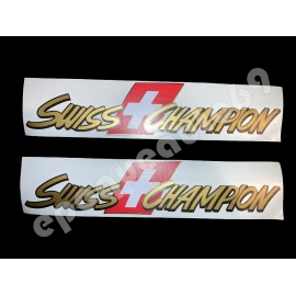 Autocollants stickers Renault clio williams SWISS CHAMPION