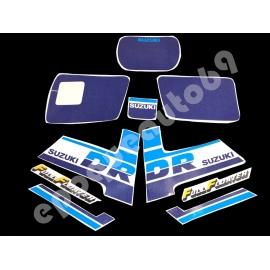 Autocollants - stickers suzuki DR 600 S année 1987