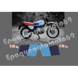 Kit autocollants -stickers BMW R 80 GS