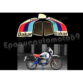 Autocollants stickers BMW R80 GS Paris Dakar