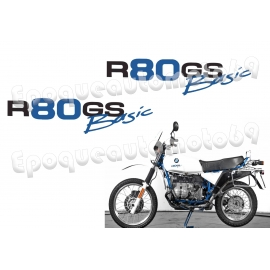Autocollants stickers BMW R 80 GS Basic