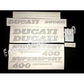 Autocollants - Stickers Ducati 400 ss super sport desmodue