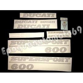 Autocollants - Stickers Ducati 600 ss super sport desmodue