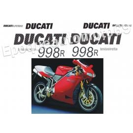 Autocollants - Stickers 998 TESTASTRETTA année 2002 - 2004