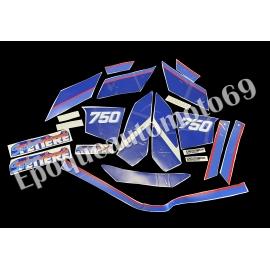 Autocollants Stickers yamaha super tenere xtz 750 de 1990