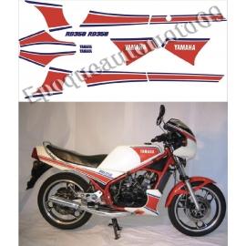 Autocollants - Stickers Yamaha RD 350 LC année 1983