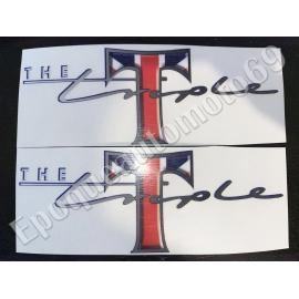 Autocollants Stickers triumph the triple union jack
