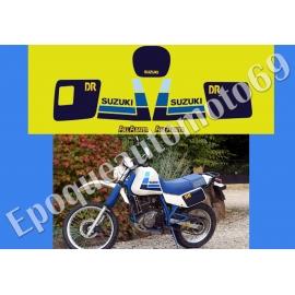 Autocollants - stickers suzuki DR 600 S année 1985