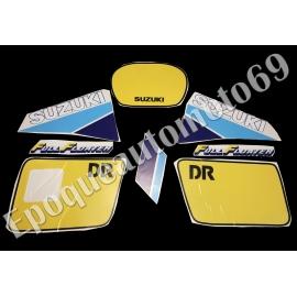 Autocollants - stickers suzuki DR 600 S année 1986