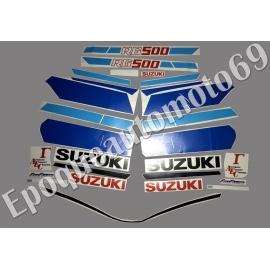 Autocollants - Stickers suzuki rg 500 gamma année 1986