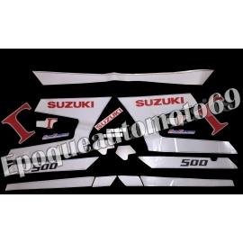 Autocollants - Stickers suzuki rg 500 gamma année 1988