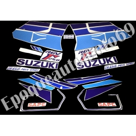 Autocollants - Stickers suzuki rgv 250 gamma année 1991