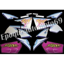 Autocollants - Stickers suzuki rgv 250 gamma année 1993