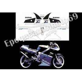 AUTOCOLLANTS STICKERS SUZUKI RG 250 GAMMA ANNÉE 1985
