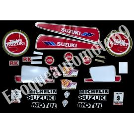 Autocollants - Stickers suzuki rgv 250 gamma de 1991 Lucky strike