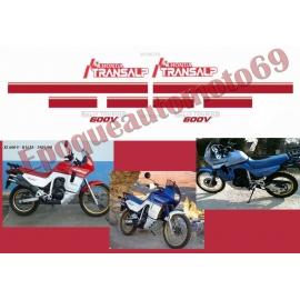 Autocollants -stickers Honda transalp Xlv 600 année 1989