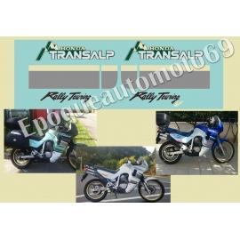 Autocollants -stickers Honda transalp Xlv 600 année 1991