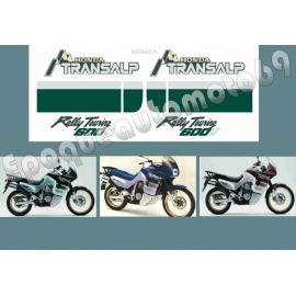 Autocollants -stickers Honda transalp Xlv 600 année 1991-1993