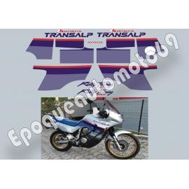 Autocollants -stickers Honda transalp Xlv 600 année 1999 50 EME ANNIVERSAIRE