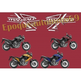 Autocollants stickers Honda transalp Xlv 700 ROTHMANS
