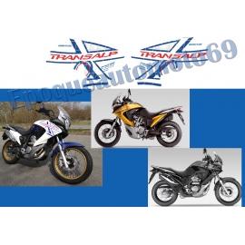 Autocollants stickers Honda transalp Xlv 700 ROTHMANS année 2009