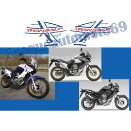 Autocollants stickers Honda transalp Xlv 700 ROTHMANS année 2011-2013