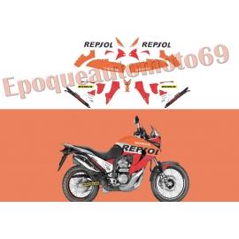 AUTOCOLLANTS -STICKERS HONDA TRANSALP XLV 700 REPSOL