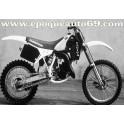 Autocollants stickers WMX 125cc année 1988