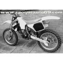Autocollants stickers Cagiva WMX 125cc année 1989
