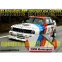 Autocollants BMW motorsport pour custode
