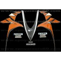 Honda CBR 1000RR 2010 - version orange / argent