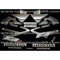 Honda CBR 600 F4i version argent / gris