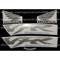 Autocollants - Stickers Honda VFR 800i année 1999 version noir