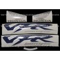 Autocollants - Stickers Honda VFR 800i année 1999 version bleu